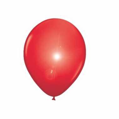 Led ballon rood 5 stuks