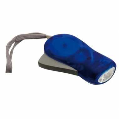 Led knijpkat blauw10,5 cm