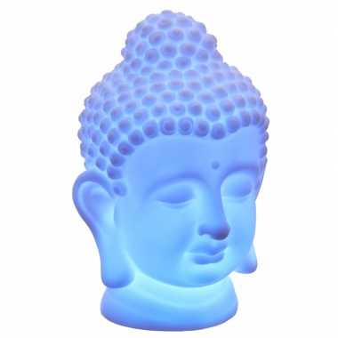 Led lamp wit boeddha hoofd 18 cm