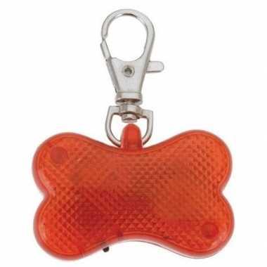 Led lampje hondenbotje aan sleutelhanger