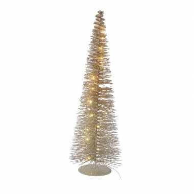 Led tafel kerstboompje van 50 cm met 30 lampjes