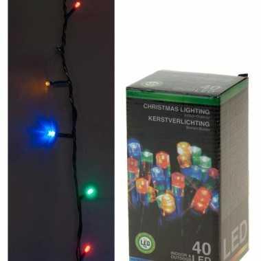 Led verlichting 40 gekleurde lichtjes