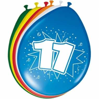Leeftijd ballonnen 11 jaar