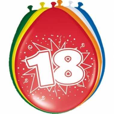Leeftijd ballonnen 18 jaar 30 cm