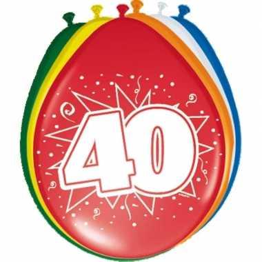 Leeftijd ballonnen 40 jaar 30 cm