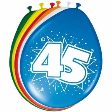 Leeftijd ballonnen 45 jaar 30 cm