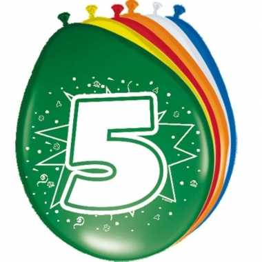 Leeftijd ballonnen 5 jaar