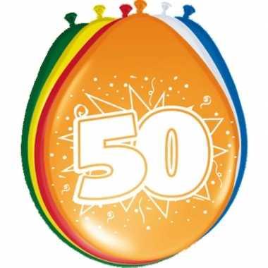 Leeftijd ballonnen 50 jaar 30 cm