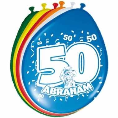 Leeftijd ballonnen 50 jaar abraham
