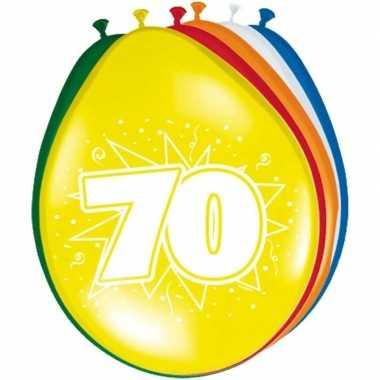 Leeftijd ballonnen 70 jaar 30 cm