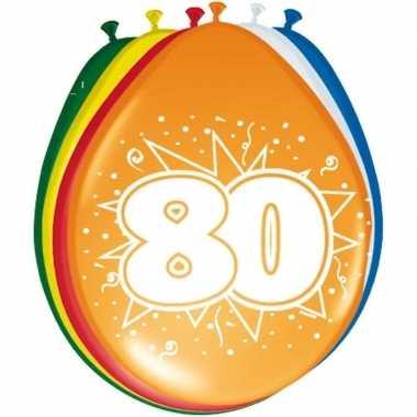 Leeftijd ballonnen 80 jaar 30 cm