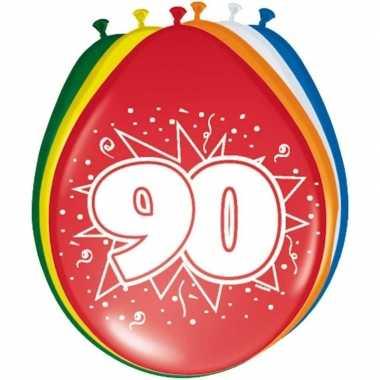 Leeftijd ballonnen 90 jaar 30 cm
