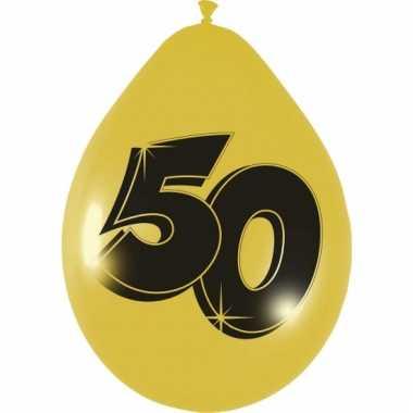 Leeftijd ballonnen gouden ballonnen 50 jaar