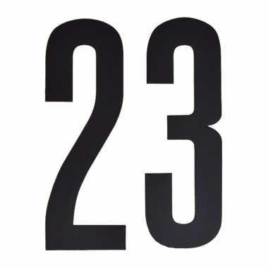 Leeftijd cijfer stickers 23 jaar