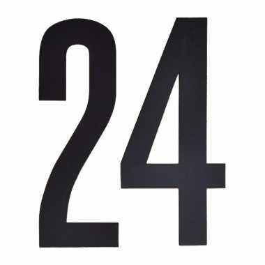 Leeftijd cijfer stickers 24 jaar