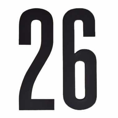 Leeftijd cijfer stickers 26 jaar