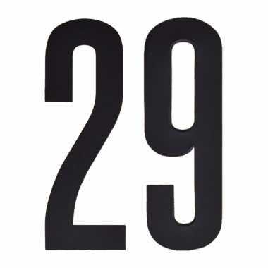 Leeftijd cijfer stickers 29 jaar