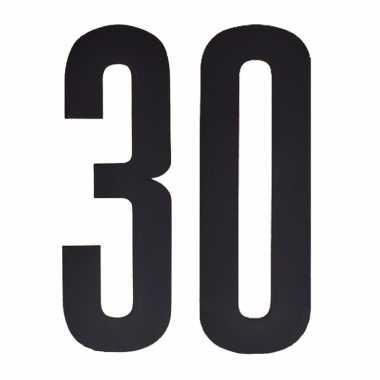 Leeftijd cijfer stickers 30 jaar
