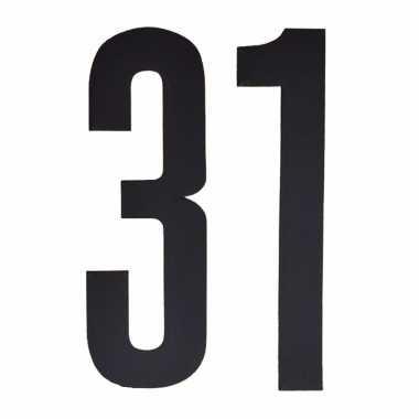 Leeftijd cijfer stickers 31 jaar