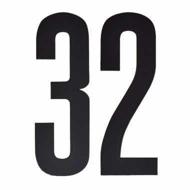 Leeftijd cijfer stickers 32 jaar