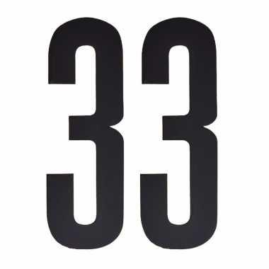 Leeftijd cijfer stickers 33 jaar