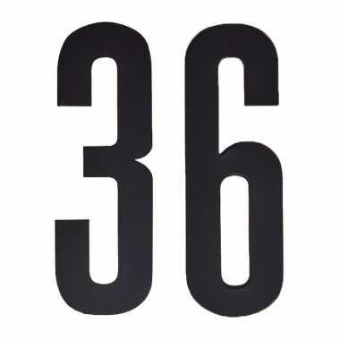 Leeftijd cijfer stickers 36 jaar
