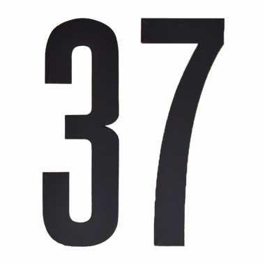 Leeftijd cijfer stickers 37 jaar