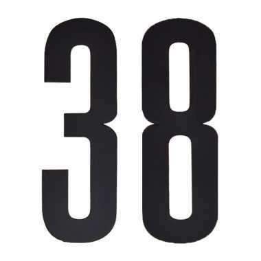 Leeftijd cijfer stickers 38 jaar