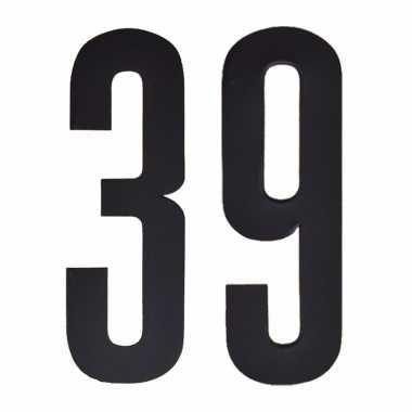 Leeftijd cijfer stickers 39 jaar
