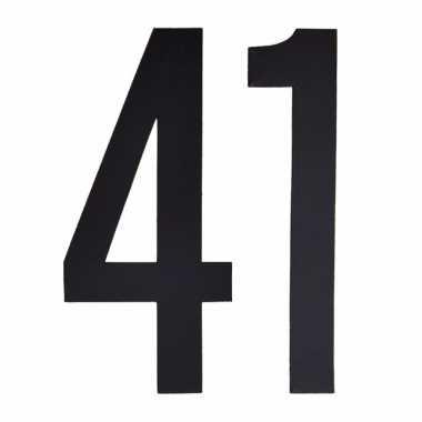 Leeftijd cijfer stickers 41 jaar