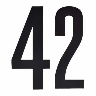 Leeftijd cijfer stickers 42 jaar