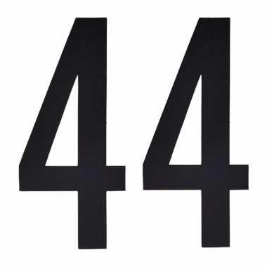 Leeftijd cijfer stickers 44 jaar