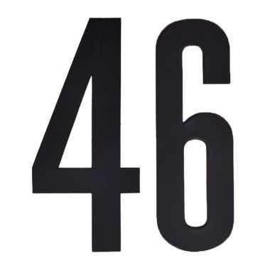 Leeftijd cijfer stickers 46 jaar