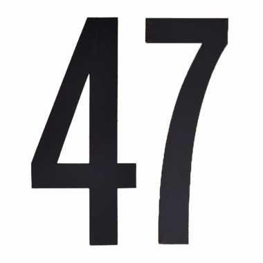 Leeftijd cijfer stickers 47 jaar