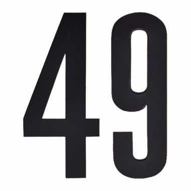 Leeftijd cijfer stickers 49 jaar