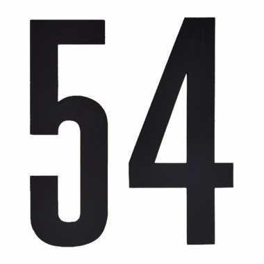 Leeftijd cijfer stickers 54 jaar