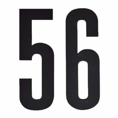 Leeftijd cijfer stickers 56 jaar