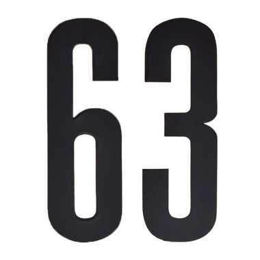 Leeftijd cijfer stickers 63 jaar