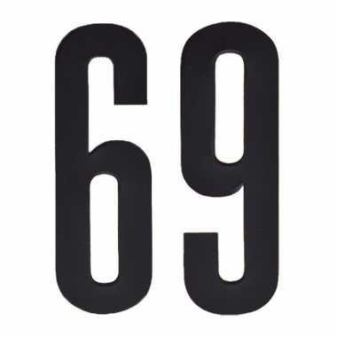 Leeftijd cijfer stickers 69 jaar
