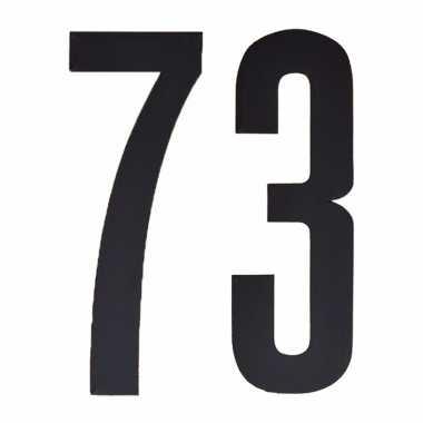 Leeftijd cijfer stickers 73 jaar
