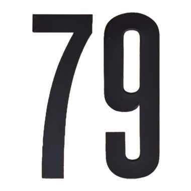 Leeftijd cijfer stickers 79 jaar