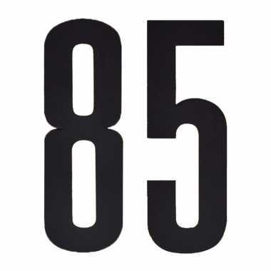 Leeftijd cijfer stickers 85 jaar
