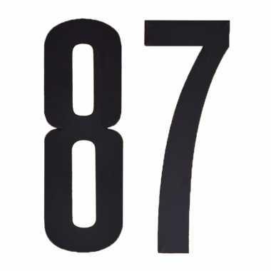 Leeftijd cijfer stickers 87 jaar