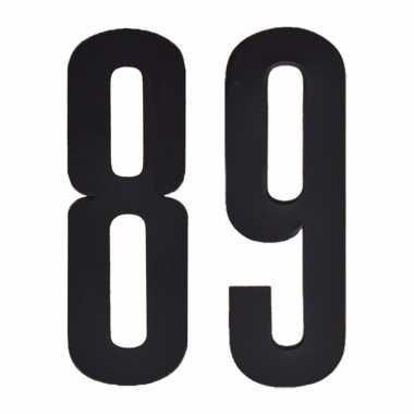 Leeftijd cijfer stickers 89 jaar