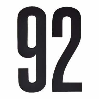 Leeftijd cijfer stickers 92 jaar