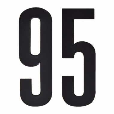 Leeftijd cijfer stickers 95 jaar