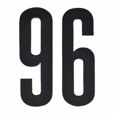 Leeftijd cijfer stickers 96 jaar