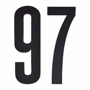 Leeftijd cijfer stickers 97 jaar