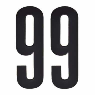 Leeftijd cijfer stickers 99 jaar