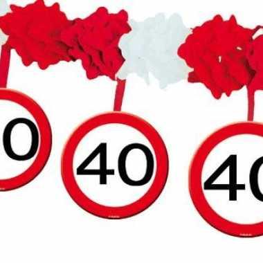 Leeftijd slingers 40 jaar